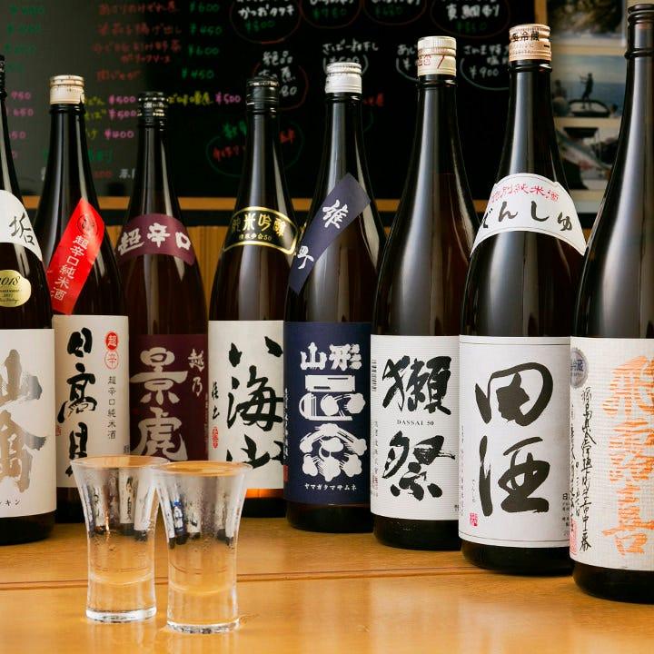 旬の魚を旬のプレミア日本酒で愉しむ