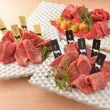 熟成肉の芳醇な旨みを贅沢かつ豪快に味わって頂ける盛り合わせ