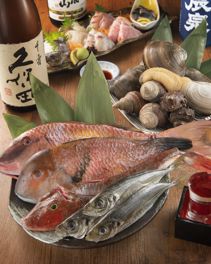 最高級品質の魚介