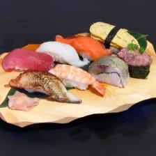◆新鮮な食材を用いた寿司