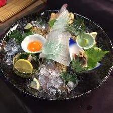 新鮮な鮮魚もご用意しております!