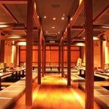 宴会、接待等ご予約受付中!人数に合わせて最適な個室をご用意!