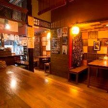 ◆古民家を改装した落ち着いた店内