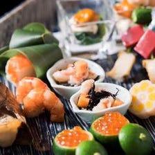 ◆四季を感じる食材&伝統の職人技
