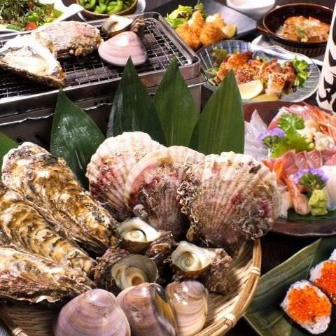 【最上級プラン】生簀から捌く海鮮や地鶏料理など料理全12品【行っ徳スペシャルコース】7800円→6800円