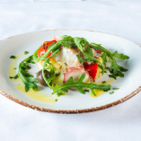 国産真蛸と季節野菜のマリネエストラゴン風味