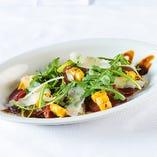 イタリア産ブレザオラバルサミコソース