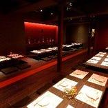 店内貸切60名様・大宴会場最大20〜60名★8~12名の完全個室あり