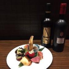 ワインや日本酒に合う一品料理