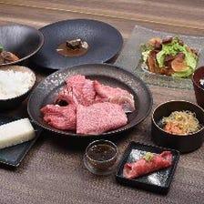 『琉球の牛』スペシャルディナーセット 焼肉7種盛り【10皿】
