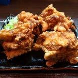 北海道の唐揚「ザンギ」。単品も定食も大人気!テイクアウト可♪