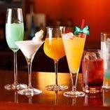 エビスの生ビールからハイボール、サワー・カクテル等アルコールドリンクも充実しております。
