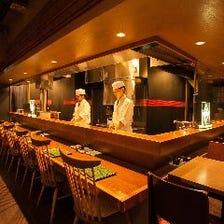 職人が作る料理と空間