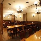【半個室】テーブル席ABC(60名様まで)