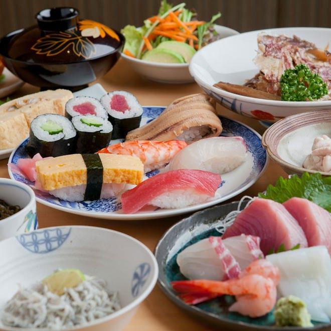 お料理コース 3,000円~ 季節の食材をふんだんに使用しました