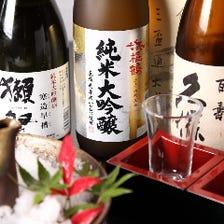 利き酒師オススメの日本酒は10種以上