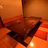 【1階 完全個室】誰にも邪魔されない、プライベート空間。4名様~どうぞ