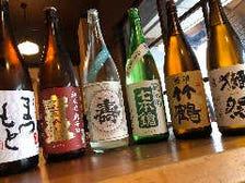 【日本酒】さまざまな地酒