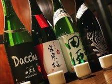 東北の厳選地酒『飲み比べ』