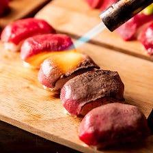 肉寿司含む様々なお料理が食べ放題!