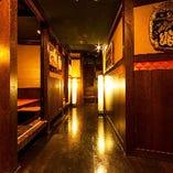 江坂駅から徒歩1分!完全個室を完備した和風居酒屋
