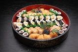 巻寿司イナリ盛合せ