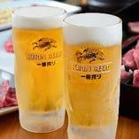 生ビール含む、約100種プレミアム飲み放題が大盛況!!