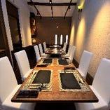 テーブル席はデートや接待はもちろん、各種宴会にもおすすめです