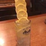 【レモンサワー】 タワーレモンサワーが人気♪