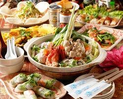 ベトナム料理 アンナンブルー ブンカフェ 金山店 こだわりの画像
