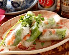 ベトナム料理 アンナンブルー ブンカフェ 金山店