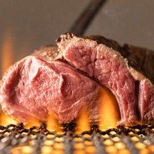 炭で焼き上げる本格肉バル♪