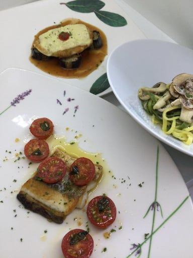 銀座 Sun-mi本店 イタリア料理サントウベルトス コースの画像