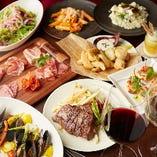 宴会やパーティーに、飲み放題付きコースは4,000円からご用意!