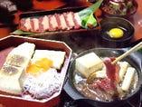 鶴我名物 會津桜鍋定食
