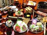 會津懐石(名物さくら鍋付)