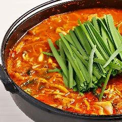 丹波地鶏のチゲ鍋