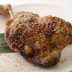 丹波地鶏 ももまるごと1本焼き