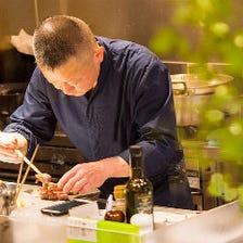 料理人が手がける新進気鋭の創作和食