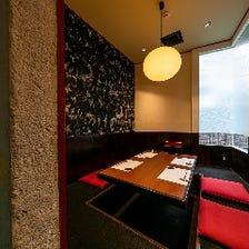 接待や会食におすすめの完全個室有