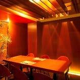 落ち着いた雰囲気の個室空間【各種ご予約受付中です】全席ご飲食されながらの喫煙可