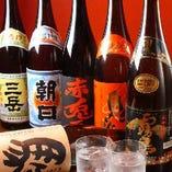 銘柄日本酒・焼酎、各種ご用意しております。お料理とともに。