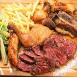 肉肉盛りMIXプレート(3~4人前)