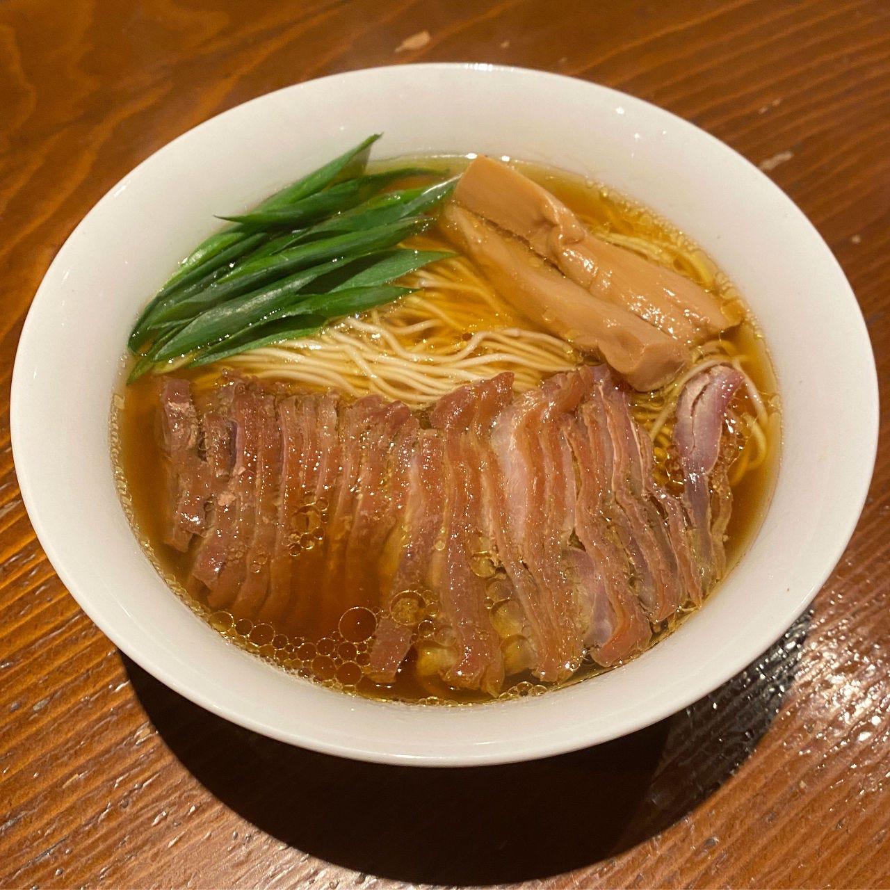 店主の思い出の味「こうのしまラーメン」¥700