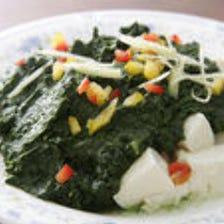 豆腐パルンゴ(ホウレン草&豆腐)