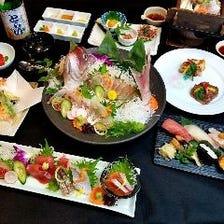 厳選☆旬な新鮮鮮魚【コース】