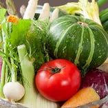 ◆お魚・野菜◆本日お客様に届けたい食材を厳選入荷! お魚・野菜もこだわっています!毎日、日本各地…複数の仕入れ先からその日の朝どれ食材情報を届けてもらっています。そのなかから食べ頃を見極め選び抜いたものを産地直送で入荷!旨みが濃い新鮮魚介にみずみずしいフレッシュな旬野菜を、お客様にお届けいたします!