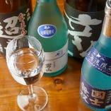 ジンギスカンと合わせて楽しみたい北海道の地酒も多数ご用意