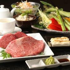 【神戸牛】旨味あふれる神戸牛ステーキを味わう『Aコース』(全7品)