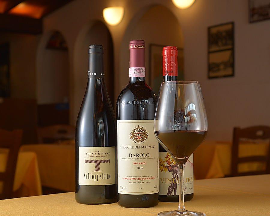 イタリア産のワインが充実